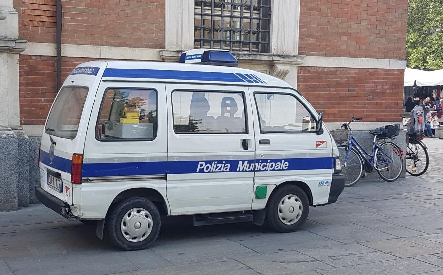furgoncino vigili